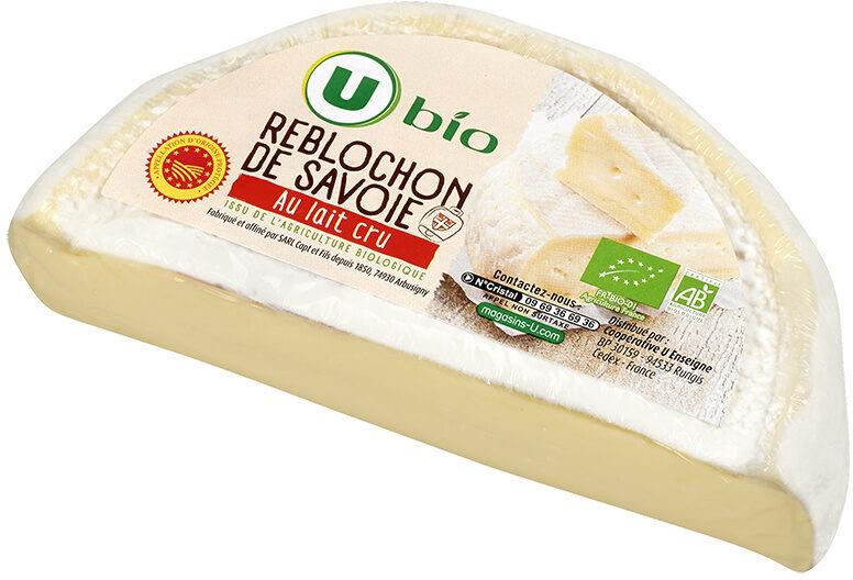 Demi reblochon de Savoie AOP BIO lait cru, 28% de MG - Produit