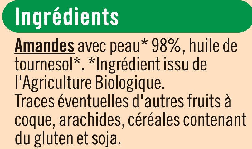 Amandes Grillées - Ingredients - fr