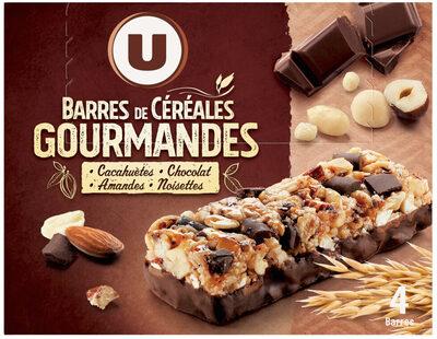 Barres de céréales chocolat cacahuètes - Produit