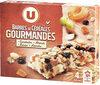 Barres de céréales gourmandes, cacahuètes abricots raisins amandes - Product