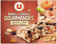 Barres de céréales abricot cacahuètes - Product - fr