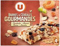 Barres de céréales abricot cacahuètes - Produit - fr