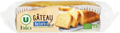 Gâteau nature barre Bio - Produit - fr