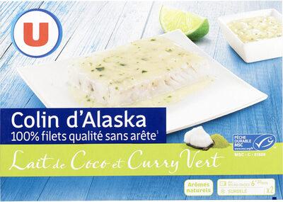 Colin d'Alaska sauce curry vert et lait de coco - Product - fr