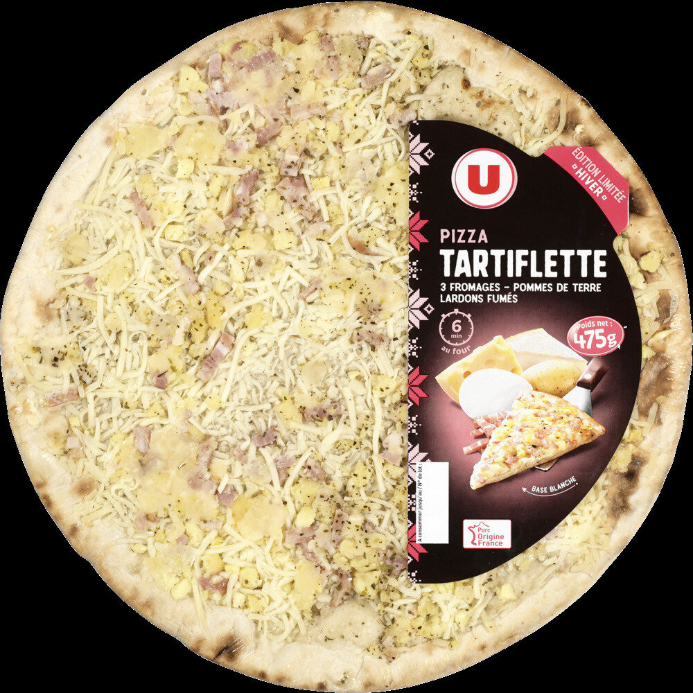 Pizza hiver tartiflette - Product - fr