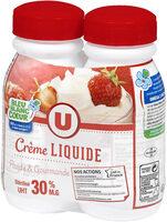 Crème liquide 30% MG - Produit - fr