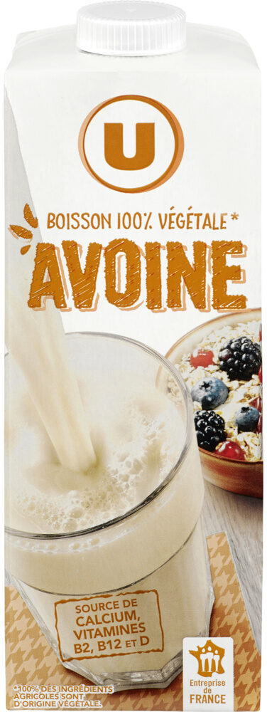 Boisson végétale saveur avoine - Produit - fr