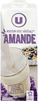 Boisson végétale saveur amande - Produit - fr