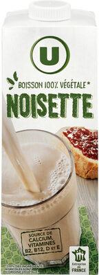 Boisson végétale saveur noisette - Produit - fr