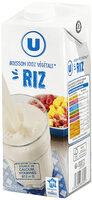 Boisson végétale saveur riz calcium - Produit - fr