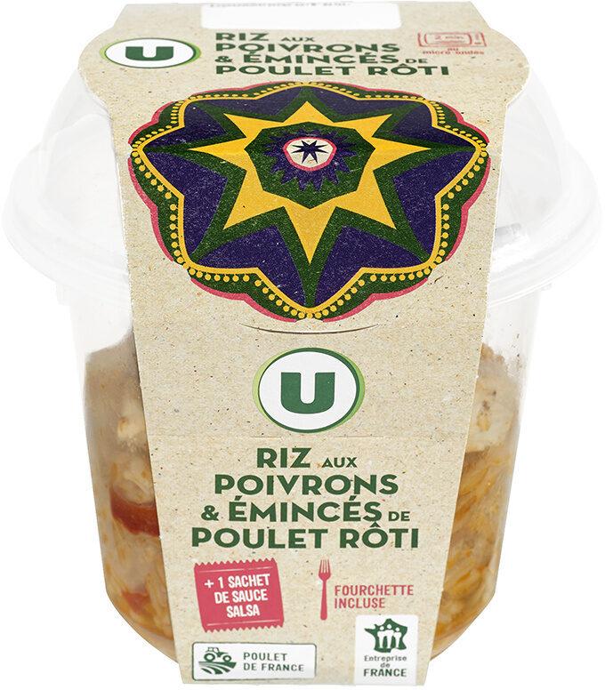 Us box Mexican riz et poulet sauce salsa - Produit