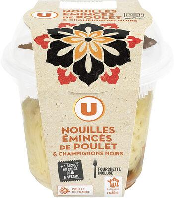 Asian box nouilles aux légumes et poulet - Product - fr
