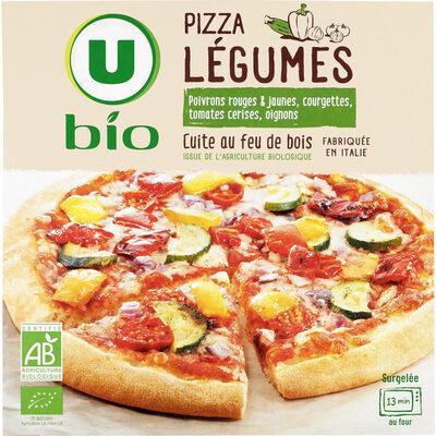Pizza légumes - Produit - fr