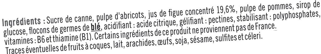 Booster sport + figue - Ingredients - fr