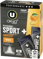 Booster sport + goût abricot - Produit