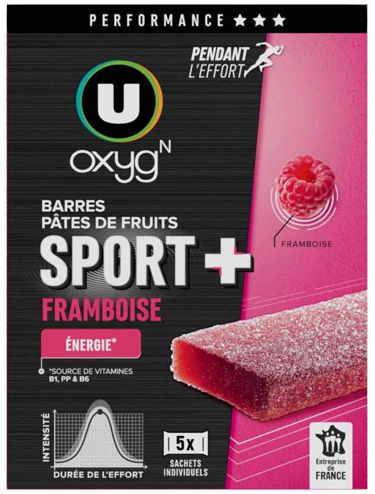 Pâtes de fruits sport+framboise - Product - fr
