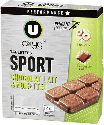 Tablettes chocolat noisette - Produit