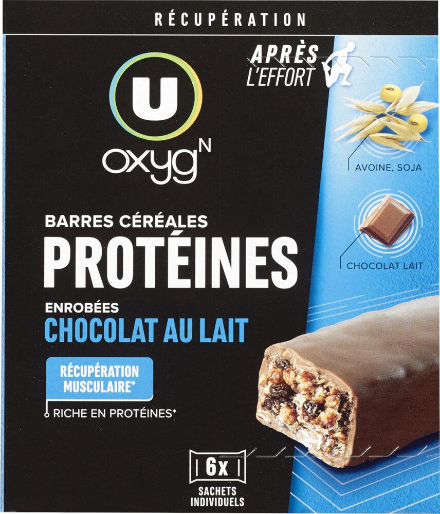 Barres protéinées au chocolat - Produit - fr
