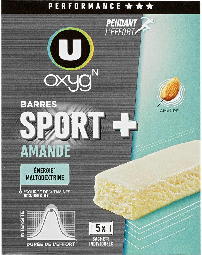 Barres sport+ amande - Product - fr