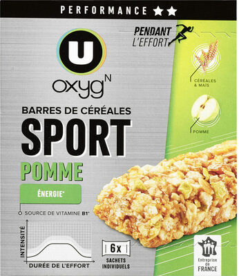 Barres de céréales aux pommes - Product - fr