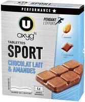 Tablettes chocolat amande - Produit
