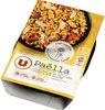 Paëlla au poulet, moule du Pacifique, chorizo et riz cuisiné - Product