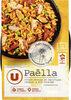 Paëlla au poulet moule du Pacifique chorizo et riz cuisiné - Product