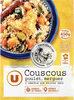 Couscous légumes poulet semoule de blé et merguez - Produit