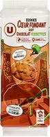 Cookies coeur fondant chocolat noisettes - Product - fr