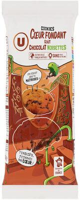 Cookies coeur fondant chocolat noisettes - Prodotto - fr