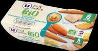 Bols carottes pommes de terre saumon BIO - Produit