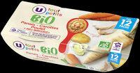 Bols panais carotte et poulet BIO - Produit