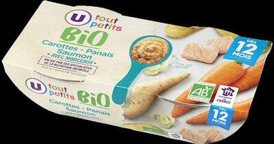 Bols carottes panais saumon bio 12mois - Produit