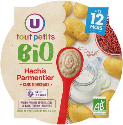 Assiette hachis parmentier U_TOUT_PETITS Bio - Product - fr