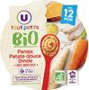 Assiette panais patate douce U_TOUT_PETITS Bio - Produit