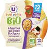 Assiette soir legumes du soleil et boulghour U_TOUT_PETITS Bio - Product