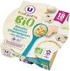 Assiette de risotto au saumon et champignon en morceaux U_TOUT_PETITS Bio - Prodotto