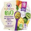 Assiette du soir printanière de légumes et pâtes bio - Prodotto