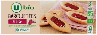 Barquettes à la fraise - Product - fr