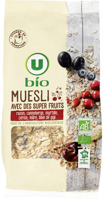 Muesli super fruits - Product - fr