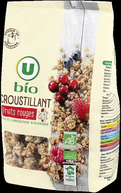 Muesli croustillant fruits rouges - Prodotto - fr