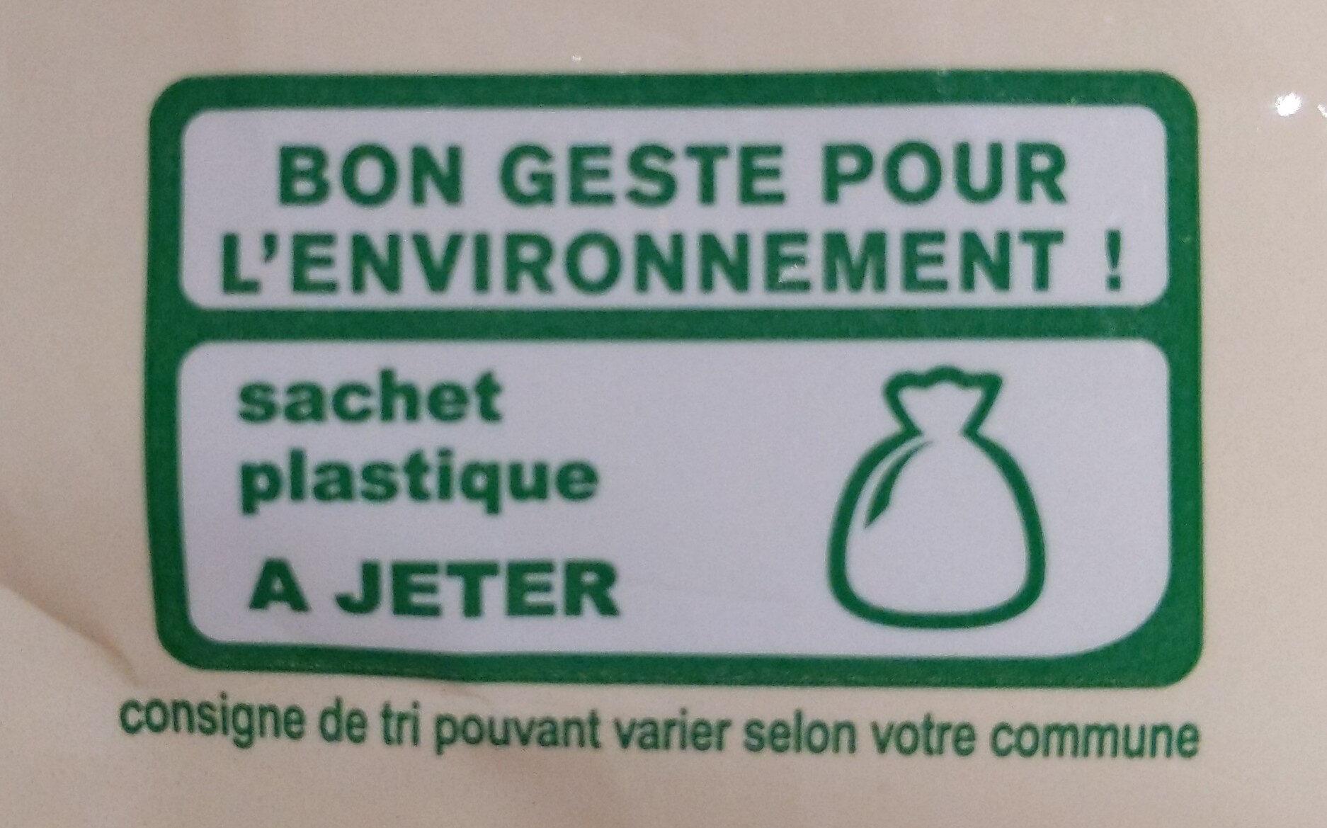 Muesli croustillant fruits rouges - Istruzioni per il riciclaggio e/o informazioni sull'imballaggio - fr