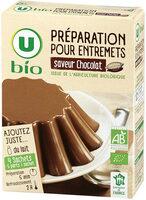 Préparation pour entremets chocolat - Produit - fr