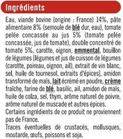 Lasagnes bolognaises - Ingrediënten - fr
