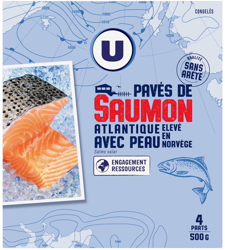 Pavés saumon avec peau - Produit - fr