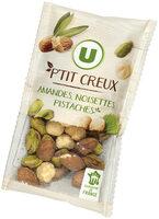 Snacking amande noisette pistache - Producte