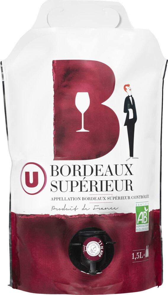 Vin rouge Bordeaux supérieur - Prodotto - fr