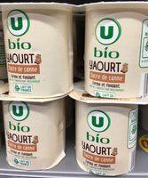 Yaourt sucre de canne bio - Product