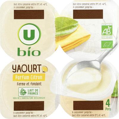 Yaourt parfum citron - Product - fr