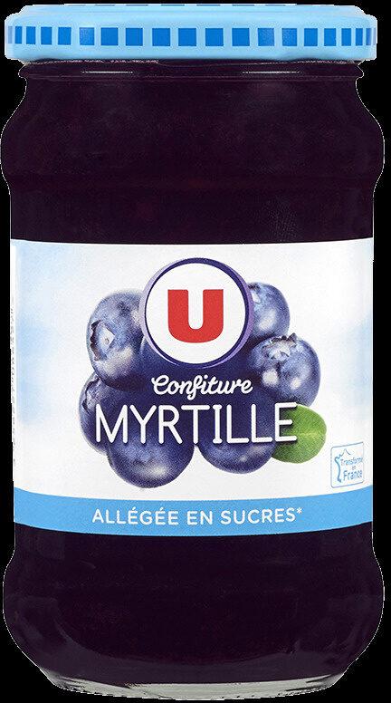 Confiture de myrtille allégée - Product - fr